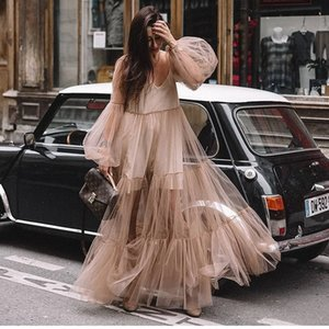 ADPN 2019 nouvelles robes de piste d'automne et d'hiver Arrivée Elegant Tweed Robe Collier Bow manches longues Femme Mode Chic Femmes Vestidos Y190514