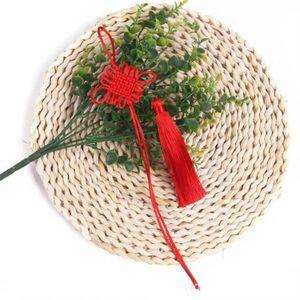 5 pz Nodi cinesi nappe manmade gioielli fai da te casa tessile tenda indumenti abbigliamento decorativo accessori decorativi pendenti nappe nappe h sqcvua