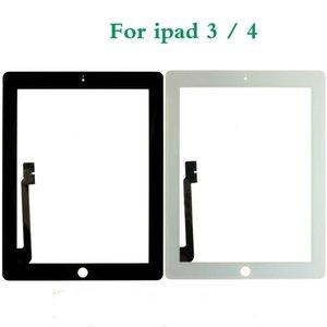 شاشة تعمل باللمس لباد 2 3 A1416 A1430 A1403 ل iPad 4 A1458 A1459 A1460 LCD خارج محول الأرقام الاستشعار لوحة زجاج استبدال