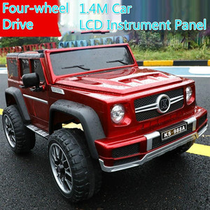 Children's Electric Car Four-Wheel Double Seat with 4WD Remote Control Off-road Vehicle Electric Car for Kids Ride on