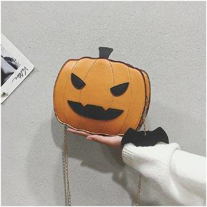Halloween Pumpkin Cute Unisex Bag Shoulder Bags Fashion Handbags Crossbody Bags New Arrival Popular Hot Sale Best Quality High Level 2020
