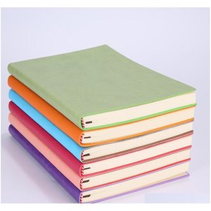 high quality a5 simple classic solid journal notebooks daily schedule memo sketchbook home school office notepads supplies gifts 8 85XE9