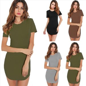 ONCE Solid Sexy Women Summer Dress Bandage Bodycon Evening Party Club Short Mini Dress 2021 Fashion Women Clothes