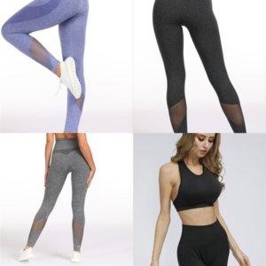 Bwy Chleisure Senza soluzione di continuità Plus Collas Petite Yoga Pant per donna Pantaloni per donna Push Up Abbigliamento sportivo Donne Gym Gym Leggings fitness Size