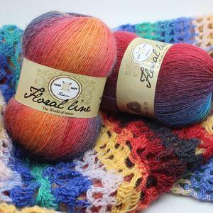 300G / 3 Шарики Мохарская шерсть вязание пряжи роскошная волосатая кашемировая пряжа для ручной кинтовя Marifetli теплый мягкий плетение Laine Tricoter T200601
