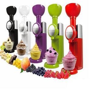 Big Boss Swirlio automática de fruta congelada Postre máquina de fruta para hacer helado de máquina Milkshake