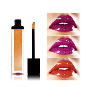 VMAE 21 Farben Heiße Art Metallglanz Lip Gloss Lip Balm Mist Feels Wasserdicht natürlicher Feuchtigkeitsspender Lasting Feuchtigkeitsspendende Gewohnheit Logo Lippenstift