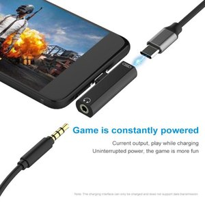 Type C To 3.5mm Practical Durable Connect Lightweight Portable Converter Phone Accessories Plug Charging Earphone Adapter Mini