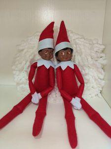2020 cross-border Christmas decorations creative long-legged doll desktop decoration Christmas gift dolls men and women different styles opt