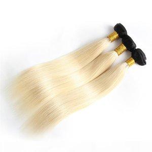 أومبير البرازيلي الشعر العذراء حزم الإنسان ينسج الشعر اللحمة 1B613 شقراء اثنين من لهجة غير المجهزة Peruvain الهندي المنغولية الشعر