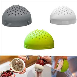 Micro silicone Passoire polyvalent petit filtre en conserve Entonnoir ménagers en conserve Passoire Cuisine Accessoires TRANSPORT MARITIME AHB2263