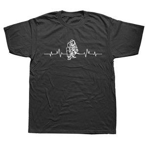 NOUVELLY SOUDAGE T-shirt T-shirt debout de coeur Mens manches courtes surdimensionnées Streetwear hip hop imprimé t shirts top tees