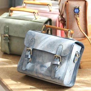 Bemoreal Véritable femmes Satchels cuir sacs messenger main sacs de sacs à main designer vintage sac bandoulière