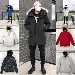 2020 Herren Designer Damen Wintermäntel Down Parkas Oberbekleidung Mit Kapuze Windjacke Big Pelz 20ss Mann Weste Daunen Jacken Mantel Manteau Hiver