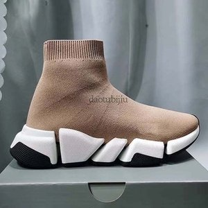 Homens Mulheres Sapatos casuais Sock VELOCIDADE Shoe 2,0 Sports malha estiramento Sneakers Speed Trainer Sock Raça Comfort Sapatos Pretos Branco Oreo H3