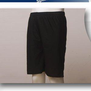 Swimming trunks straight add fat loose size 200 Jin long leg swimming trunks men's hot spring four corner swimming