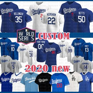 Mookie Betts Dodgers Baseball Jersey Enrique Hernandez Cody Bellinger Clayton Kershaw Corey Seager Justin Turner Piazza Los Angeles personalizado