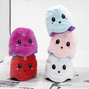 Reversible Flip Ghost Doll Soft Stuffed Plush Toy Glow In Dark Doll Plush Doll Filled Plush Child Toy Halloween Gift