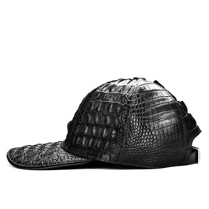 100% crocodile leather casual baseball cap unisex adjustable caps 201019