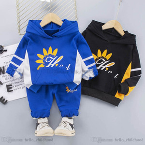 2021 new Spring baby tracksuit boys tracksuit hoodie+trousers 2pcs set baby boys suits kids tracksuit baby boys clothes boy clothing B3608