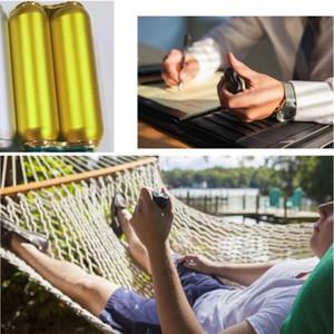 Portable Decompression Palm Roller Aluminum Alloy Massage Decompression Rod Wand Gold Siliver Hand Decompression Toy Tool EWD4442