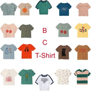 Kids T shirt 2019 Summer StRafina Boys Girls Top Tee T shirt Baby Toddlers Cotton Fruits Garden T-shirts Children Clothes 1005