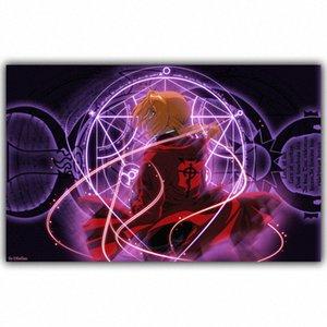 Anime Full Metal Alchemist-Bruderschaft Elric Alphonse Hauptdekoration Leinwand-Plakat-Druck Tapete CzGk #