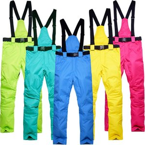 New Outdoor -35 Degree Snow Pants Plus Size Elastic Waist Lady Trousers Winter Skating Pants Skiing Outdoor Ski for Women
