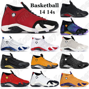 2021 14 14s Uomini Baketball Scarpe Palestra Gym Red Turbo Candy Canne Sneakers Nero Antracite Hyper Royal Desert Sand Thunder Trainer con tag