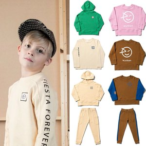 EnkeliBB Kids Casual Sweatshirt and Sweatpants Wynken Children Fashion Tops Autumn Spring Stylish Toddler Boy Girl Clothing LJ201127