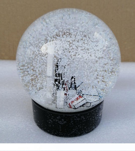 2020 New C Christmas Gift Snow Globe C Classics Letters Crystal Ball With Gift Box Limited Gift For VIP Customer