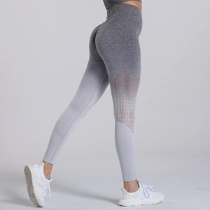 Sports Leggings For Women Gym Yoga Pants Fitness Womens Tights Workout Squaf Proof Strench Leggins Feamle Running Trousers