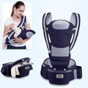 Breathable Ergonomic Baby Carrier Backpack Portable Infant Baby Carrier Kangaroo Hipseat Heaps Sling Wrap
