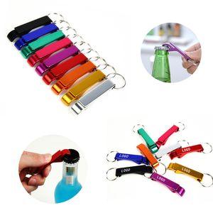 Yaratıcı Anahtarlık Çok Fonksiyonlu Renkli Şişe Açıcı Portatif Anahtarlık anahtar Halka Bira Can İçecek Şişe Açıcı-w 00357