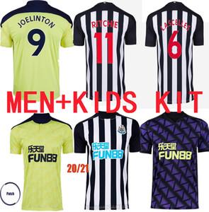Erkekler Çocuk Kitleri 2020 2021 Nufc Joelinton Futbol Formaları Shelvey 2020 2021 Almiron Ritchie Gayle Ekipmanları Futbol Gömlek