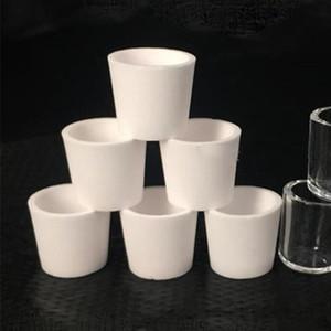 Ceramic Bowl Quartz Bowl Ceramic Quartz Insert Coil Nail for Smoking Dabbing Concentrates Tobacco Dry Herb Vaporizer Burn Burning Bowl