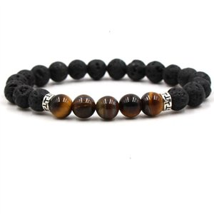 Stone Mens Bead Natural Jewelry Luxury Cheap Anchor Beaded Bracelets For Men Women Buddha LavaDTF6