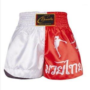 Boxing Брюки Муай Тайские Шорты Бокс Санды Брюки 4 Цвета Дополнительные для обучения Борьбатейная Фитнес Sports1
