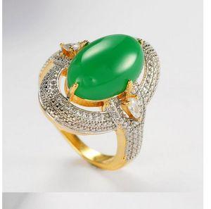 232pcs chaming fashion natural emeralds jasper 925 silver ring open size 6--10