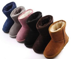 Free ship New Real Australia 528 High-quality Kid Boys girls children boots baby warm snow boots Teenage Students Snow Winter boots