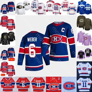 Personalizzato 2021 Montreal Canadiens Ice Hockey Jersey Guy Guy Lafleur Dickie Moore Yvan Cournoyer Henri Richard Lach Savard Robinson Gainey Dryden