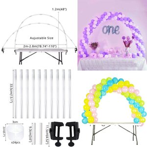 New Round Circle Balloons Stand Balloon Hoop Holder Arch Weddng Backdrop Ballon Farme Baby Shower Kids Birthday Party Decoration jllopn