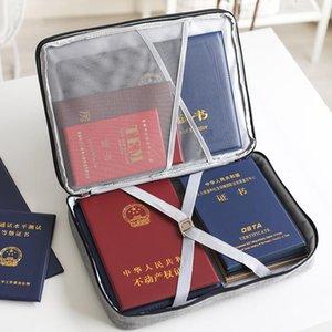 Big Capacity Men Document Bag Travel Man Handbag Office Organizer Waterproof Business Briefcase File Zipper Pouch Accessories