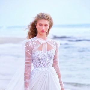 Custom Made Wedding Dresses with Wrap Floral Applique Beads vestido de novia Bow Button Back Bridal Gowns Robe