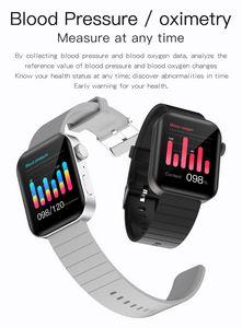 Bluetooth Call P40 Smart Watch Мужчины Женщины 1.65 дюймов IP67 Водонепроницаемый монитор сердечных сокращений Спорт SmartWatch