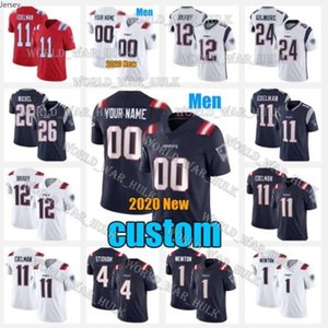 1 Cam Newton 18 Matthew Slater 35 Kyle Dugger 24 Ty Law Stephon Gilmore New Custom England