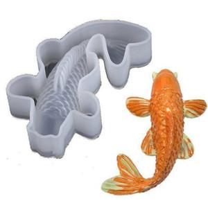 Koi Fish 3D Pendentif moule en silicone transparent résine époxy moule bricolage décoration Artisanat Bijoux Décoration Ornements