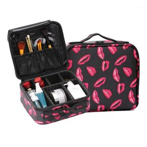new Professional Makeup Bag Women Cosmetic Case Quality oxford Female Make Up Box Large Capacity Travel Wash Bag1