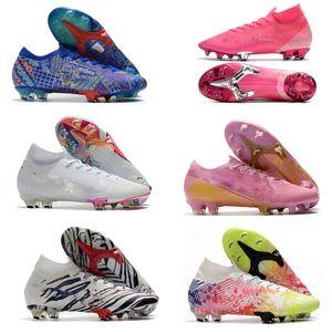 2020 women child Mercurial Elite 13 FG Neymar Ronaldo Comfortable Mens FG Soccer Cleats Cheapest Soccer Shoes Mens Football Boots size35-45