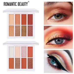 Matte Small Plate Portable Eyeshadow INS 8-color Eyeshadow Makeup For All Type Of Skins Safe And Soft Palette